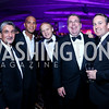 Ted Leonsis, Adrian Fenty, Mark Ein, Philip Deutch, Chris Donatelli. Photo by Tony Powell. 2013 Fight Night. Hilton Hotel. November 14, 2013