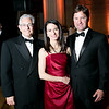 Russ Pommer, Aerin Bryant, Dan Bryant. Photo by Alfredo Flores. Heart's Delight Vintner's Dinner. Andrew W. Mellon Auditorium. May 3, 2013