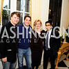 Ryan Grim,Nico Pitney,Arianna Huffington,Jimmy Soni,January 19,2013,Reception  for The 57th Presidential Inauguration at the Residence of The British Ambassador,Kyle Samperton