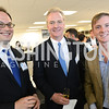 Frank Foer, Congressman Chris Van Hollen, Chris Hughes, The New Republic Office Opening Party.  Friday April 26. Photo by Ben Droz.