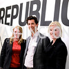 Michelle Upton, Sloan Eddleston, Jennifer Hicks, The New Republic Office Opening Party.  Friday April 26. Photo by Ben Droz.