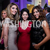 Sheena Tahilramani, Raquel Cabral, Denise Gitsham. Photo by Tony Powell. 2013 YGL. Carnegie Library. December 11, 2013