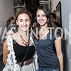 Yekarerina Weitzmann, Marica Sharasheidze. Photo by Alfredo Flores. Transformer opening reception for Terminators. Transformer . May 11, 2013