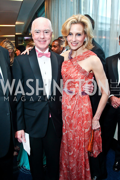 David and Katherine Bradley. Photo by Tony Powell. WHC Pre Parties. Hilton Hotel. April 27, 2013