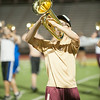 Dripping Springs Tiger Band Rehearsal, Monday, August 25th, 2014.