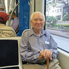 Dad on the Houston Metro Train