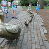 Make Way for Duckling sculpture