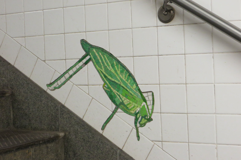 Subway Art-Grasshopper