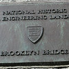 Brooklyn Bridge-Historic Marker