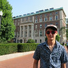Beck checking out Columbia University