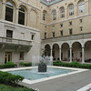 Courtyard inside the Boston Public Library