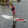 Maya loving the SUP