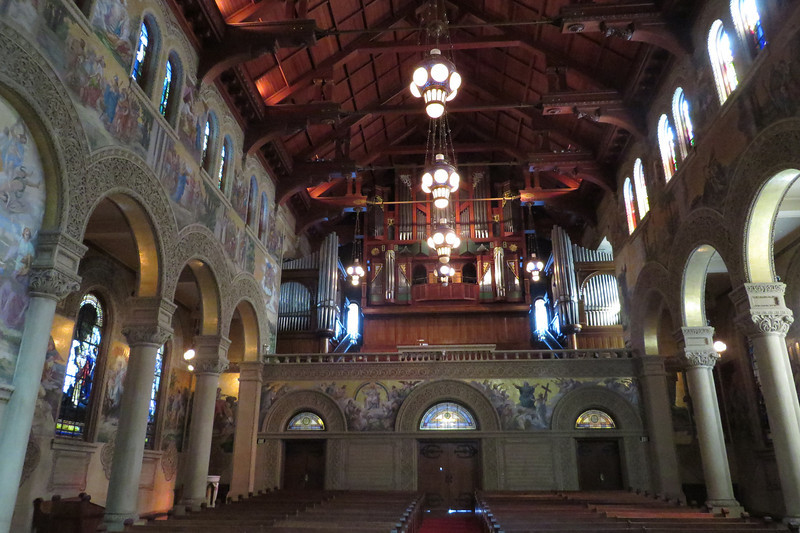 Inside Memorial Church 6