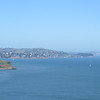 Looking towards Sausilito from the Golden Gate Bridge