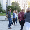 Beck taking a campus tour of UC Berkley
