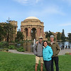 Family at the Palace of Fine Arts