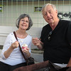 Diana and Frank at Dolce Neve Gelato