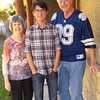 Beck with the Grandparents-Thanksgiving 2014