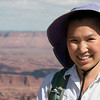 Christine in Canyonlands National Park
