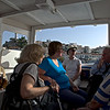 Poros, The group in the water taxi.