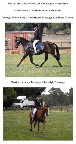 Interschools Ashleigh Middendorp and Shakira Hartley