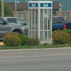 Day 4 - Phone Booth in Sault Ste Marie, ON. Been a long time since I've seen on in the States.