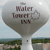 Day 4 - The landmark water tower outside our hotel.