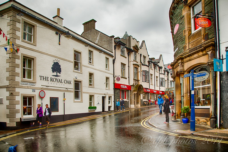 Rainy Day in Keswick