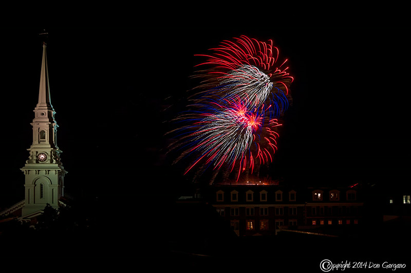 Portsmouth New Hampshire Fireworks