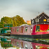 Narrow Boats on the Trent Lock