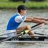 2014 World Rowing Championships, Amsterdam, the Netherlands.<br /> 29/08/2014<br /> Final (places 1-6)<br /> men's lightweight single sculls<br /> 1. ITA<br /> 2. GER<br /> 3. SUI<br /> <br /> Photo: Stefan Racila