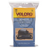 2014-02-19 Velcro Reusable Self-Gripping Cable Ties, 0.5 in x 8 in, Black, 100 Ties $7.60