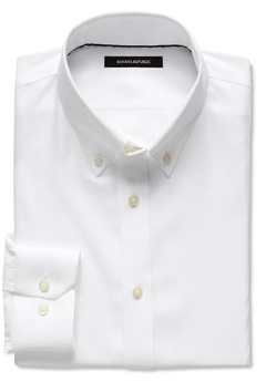 2014-02-15 Banana Republic White OCBD $24.99