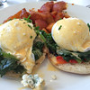 HK Hell's Kitchen - Classic Eggs Benedict with Spinach