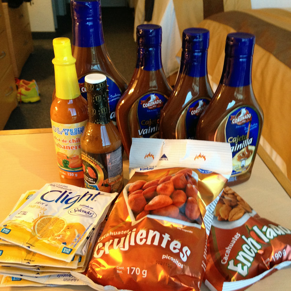 Mexican groceries to take home