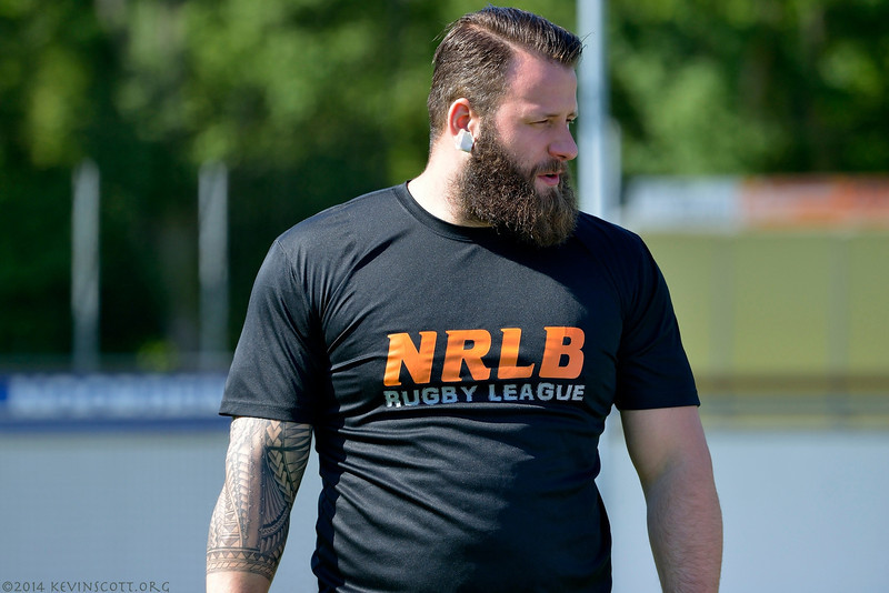 140503 Netherlands v Germany, Rugby League