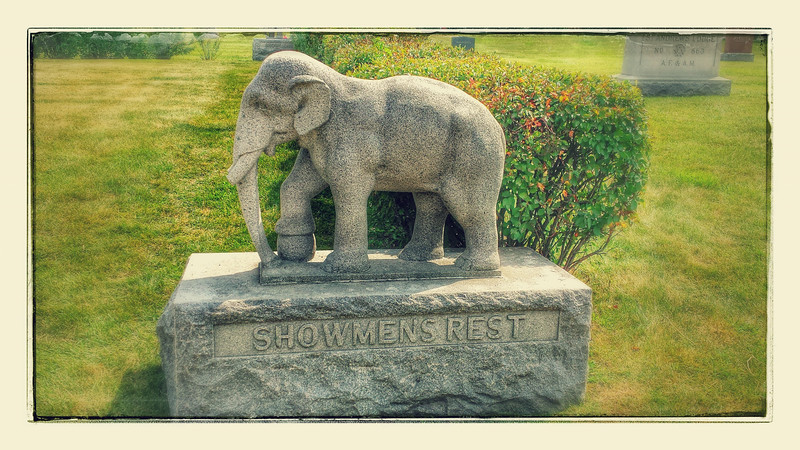 Showmens Rest @ Woodlawn Cemetery in Forest Park