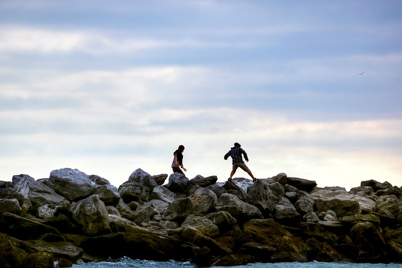 Jumping the Jetty
