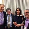 Bob Klein, Alan Meyer, Renee Ebert, and Bob Israel