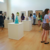 Art show in TSC Gallery; Fall 2014.