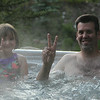 Daphne & Bobby in hot tub