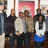 Michael White, Walter Evans (Martha Evans), Josephine Green, Ron Brown, Donald Whitely, Symantha Outlaw, and Richard Outlaw were among the featured artists in the Howland Cultural Center's annual celebration of African-American History Month art exhibit, that began on Saturday, February 1, 2014. Hudson Valley Press/CHUCK STEWART, JR.