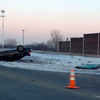 WJOB listener Ron sent in this photo of a rollover accident on 80/94 near Cline Avenue
