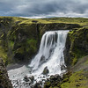 After turning around we stopped at a waterfall we had passed, Fagrifoss. It was pretty massive and like all Icelandic waterfalls, you can walk right up to the edge!