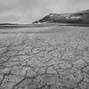 Cracked earth at the Hevirir geothermal area