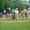 Boiling Springs new Town Hall and Police Station host a groundbreaking ceremony on July 25, 2014.