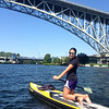 Heading under the Aurora bridge