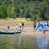 People enjoying Lake Mendocino on a Saturday afternoon. (Nathan DeHart-Ukiah Daily Journal)