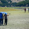 Despite the hot weather and low water people are still enjoying the lake. (Nathan DeHart-Ukiah Daily Journal)