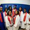 Poughkeepsie High School Marist College Upward Bound seniors prior to the 142nd Commencement Exercises for the graduating Class of 2014 on Friday, June 27, 2014 in Poughkeepsie, NY. Hudson Valley Press/CHUCK STEWART, JR.